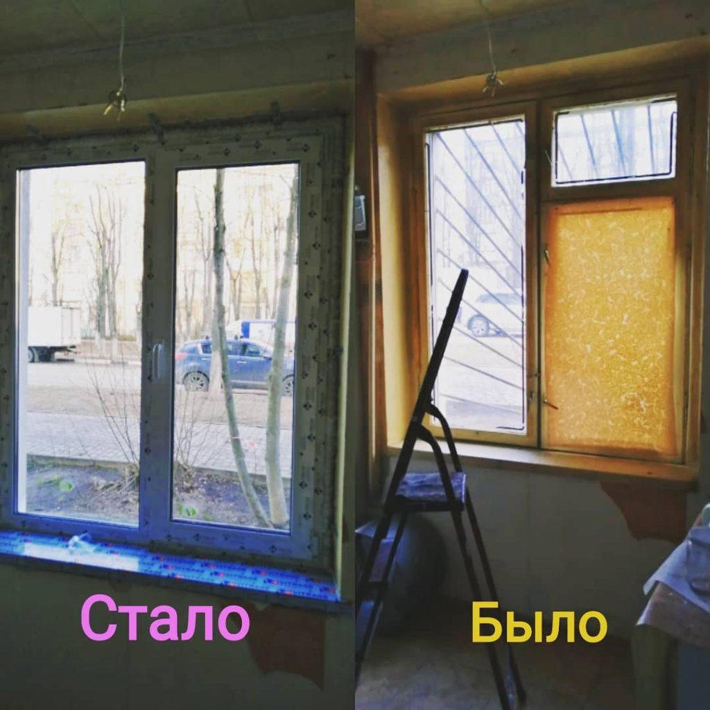 Результаты ремонта в офисе