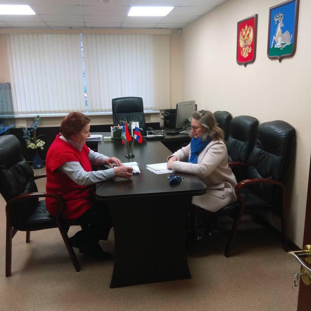 Встреча с депутатом Одинцовского городского округа